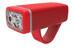 Knog POP ii - Éclairage avant - 1 LED blanche standard rouge